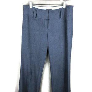 Express Womens Dress Pants, Gray Wide Leg 8R